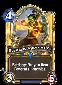 Golden Reckless Apprentice