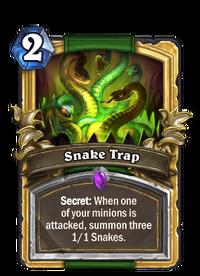Golden Snake Trap