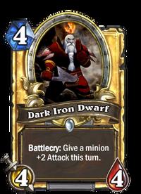 Golden Dark Iron Dwarf