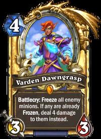 Golden Varden Dawngrasp