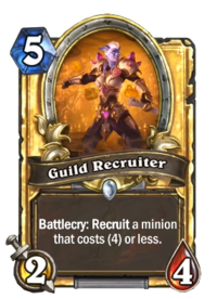 Golden Guild Recruiter