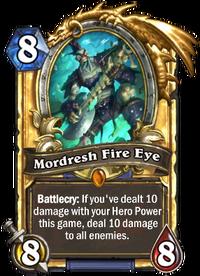 Golden Mordresh Fire Eye