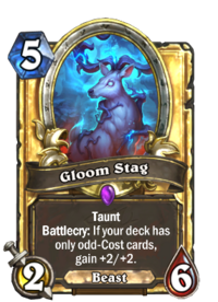 Golden Gloom Stag