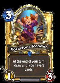 Golden Voracious Reader