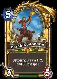 Golden Barak Kodobane