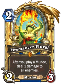 Golden Firemancer Flurgl