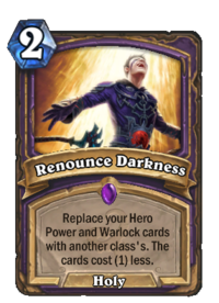Renounce Darkness