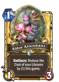 Golden Aldor Attendant