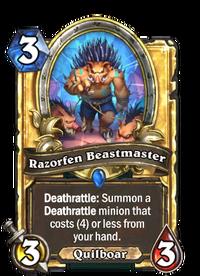 Razorfen Beastmaster(487633) Gold.png