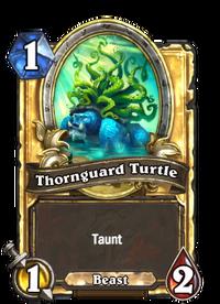 Golden Thornguard Turtle