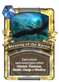 Blessing of the Raven (card) Gold.png