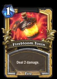 Golden Firebloom Toxin