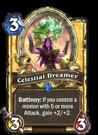Golden Celestial Dreamer