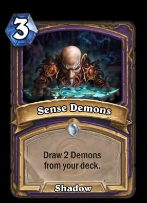 Sense Demons Hearthstone Heroes Of Warcraft Wiki