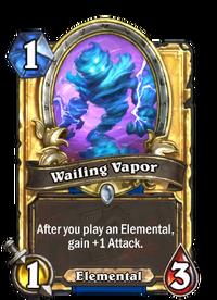 Golden Wailing Vapor