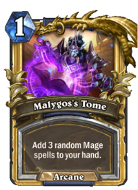 Golden Malygos's Tome