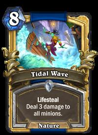 Golden Tidal Wave