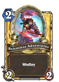 Golden Relentless Adventurer