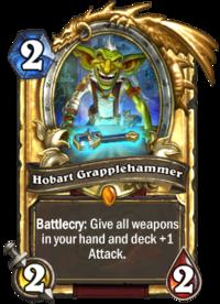 Golden Hobart Grapplehammer