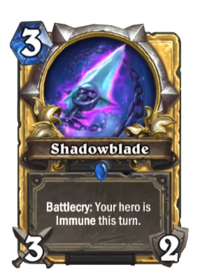 Golden Shadowblade