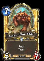 Amani War Bear(90197) Gold.png