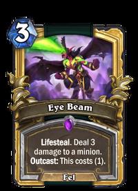 Golden Eye Beam