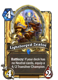 Golden Lightforged Zealot