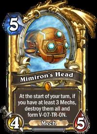 Golden Mimiron's Head