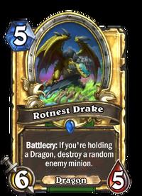 Golden Rotnest Drake