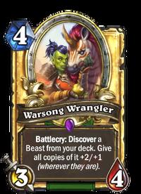 Golden Warsong Wrangler