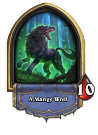 A Mangy Wolf