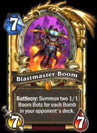Golden Blastmaster Boom