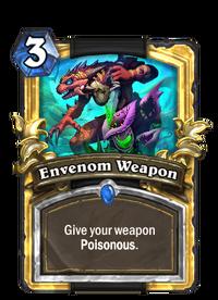 Golden Envenom Weapon