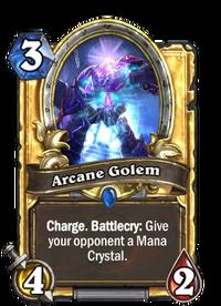Golden Arcane Golem