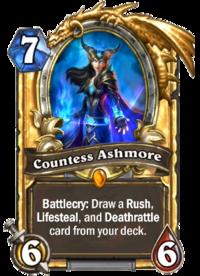Golden Countess Ashmore