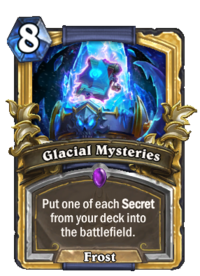 Golden Glacial Mysteries