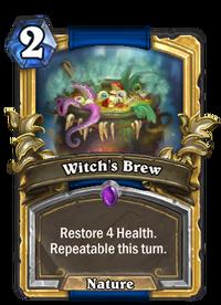 Golden Witch's Brew
