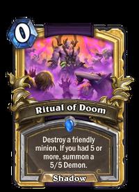 Golden Ritual of Doom