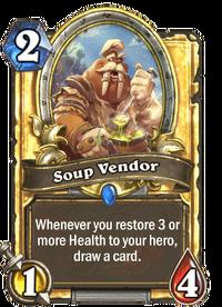 Golden Soup Vendor