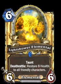 Golden Lightshower Elemental