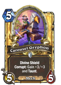 Golden Carousel Gryphon