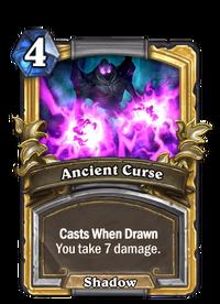 Golden Ancient Curse