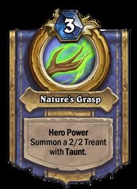 Golden Nature's Grasp