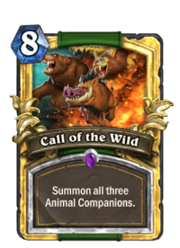 Golden Call of the Wild