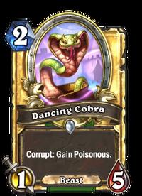 Golden Dancing Cobra