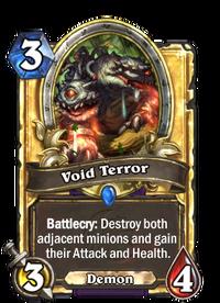 Golden Void Terror