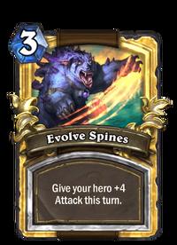 Golden Evolve Spines