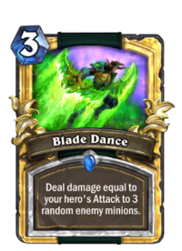 Golden Blade Dance