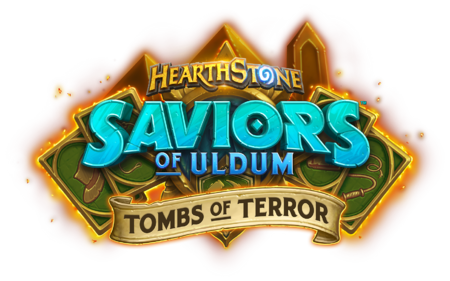 Saviors of Uldum Tombs of Terror logo.png