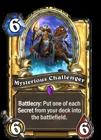 Golden Mysterious Challenger